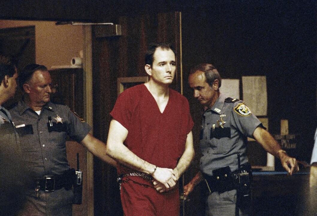 I RETTEN: Danny Rolling erkjente seg selv skyldig i drapene i Gainesville. Rolling ble henrettet i 2006.  Foto: NTB scanpix