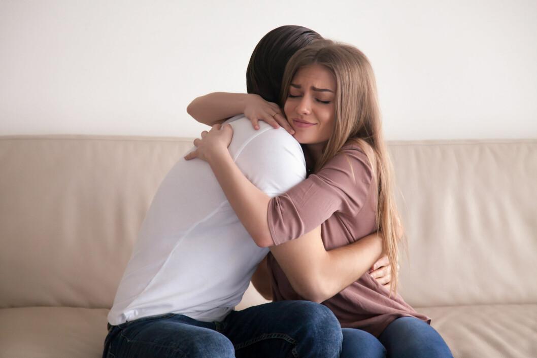 UNNSKYLD: Å skvære opp når man har såret noen er den eneste måten å holde sammen på i lengden. Foto: NTB scanpix