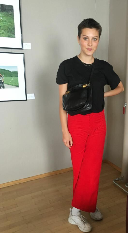 <strong>KUL DAME:</strong> Skuespiller Ruby Dagnall er bare 16 år, men har allerede rukket å gjøre suksess både på TV, film og Nationaltheatret. Vi gleder oss til å se mer av henne i fremtiden! Foto: Malini Gaare Bjørnstad