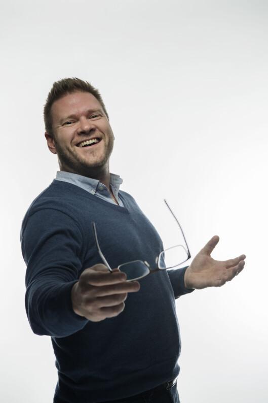 OPPSTARTSLOS: Henrik Jacobsen er oppstartslos i DNB.  Foto: DNB
