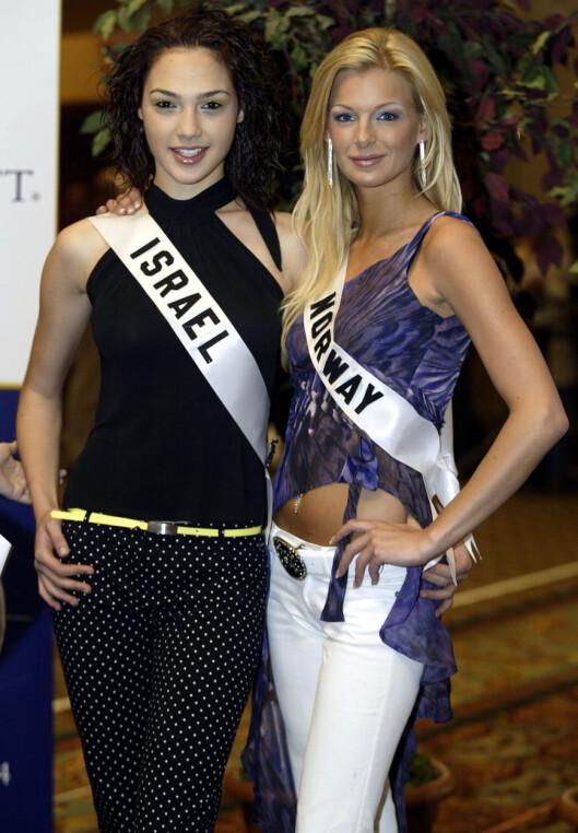Gal Gadot og Kathrine Sørland Foto: AFP
