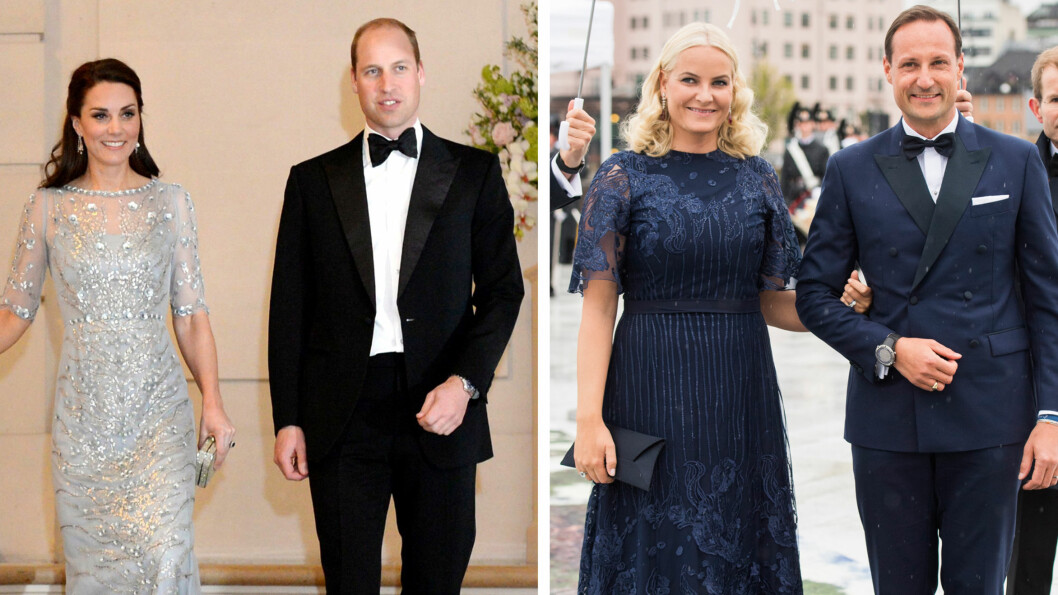 KATE OG WILLIAM I NORGE: Det er ikke til å stikke under en stol at vi har til gode å se hertuginne Kate og prins William kaste glans over royale tilstelninger i Norge. Foto: NTB Scanpix
