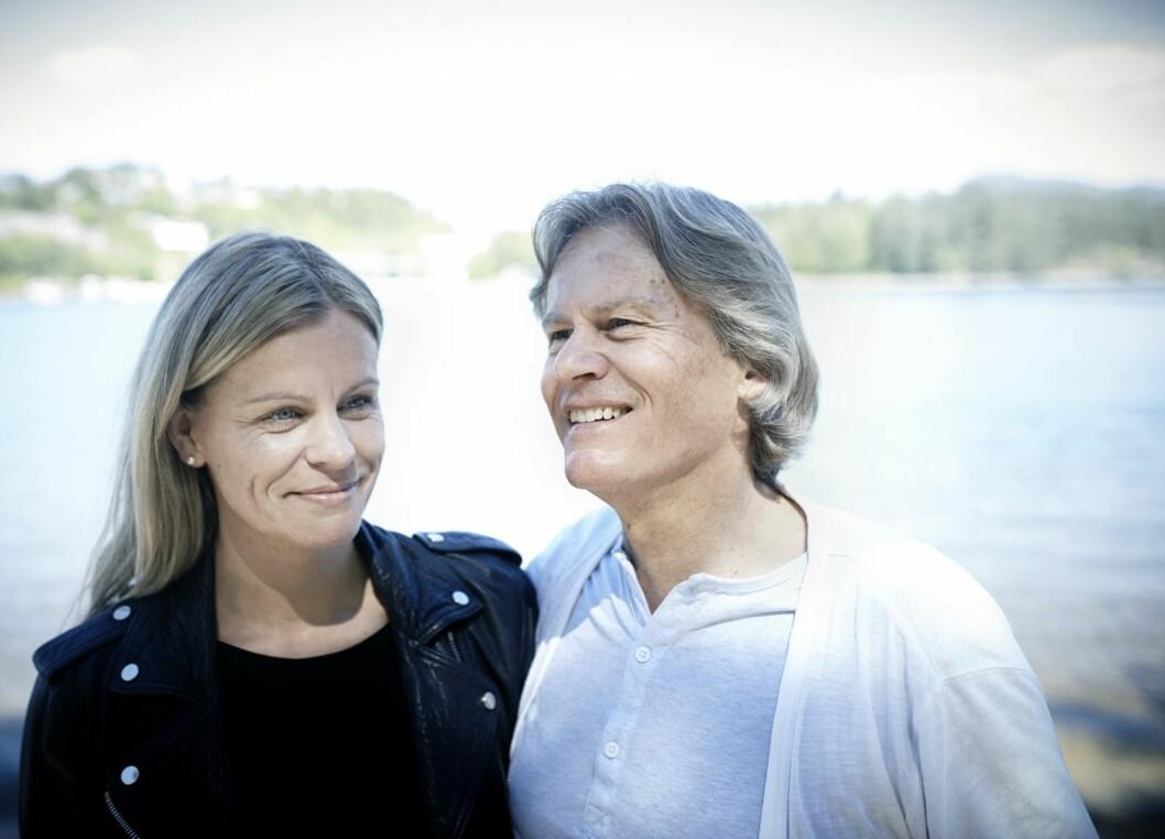 Nina Sofie Hægeland og Odd Petter Magnussen. Foto: Geir Dokken