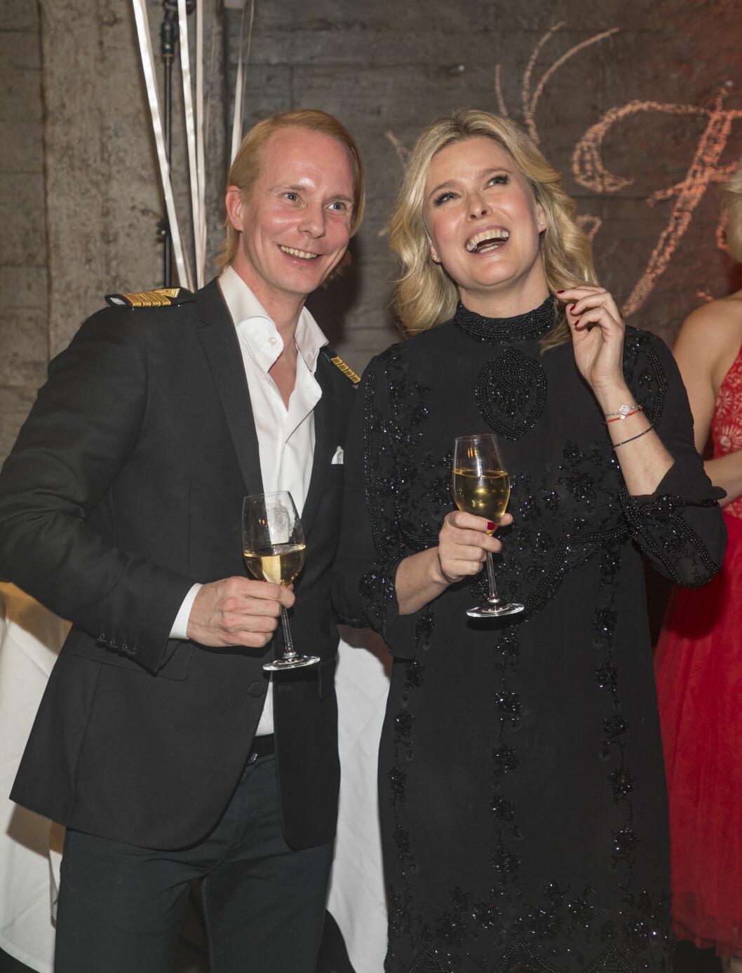 FINALEFESTEN:  Petter Pilgaard og Vendela Kirsebom under finalefesten for Farmen Kjendis 2017. Foto: Tor Lindseth for Se og Hør