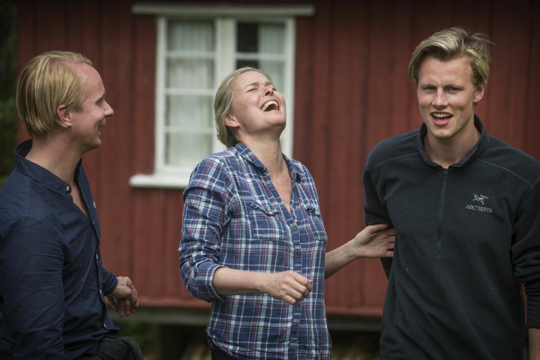 VENDELA OG PETTER: De to møttes som kjent under innspillingen av Kjendis-Farmen i fjor sommer.  Foto: VG/NTB Scanpix