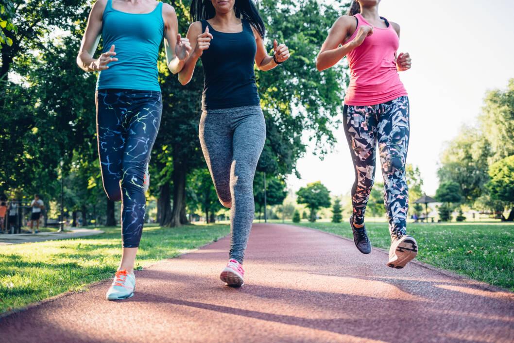 BLI MED: Ikke vær redd for å delta i lengre løp! - Som regel er det folk i alle mulige fasonger og på alle nivåer på startstreken, uansett hva du er med på, sier Røhne. Foto: NTB scanpix
