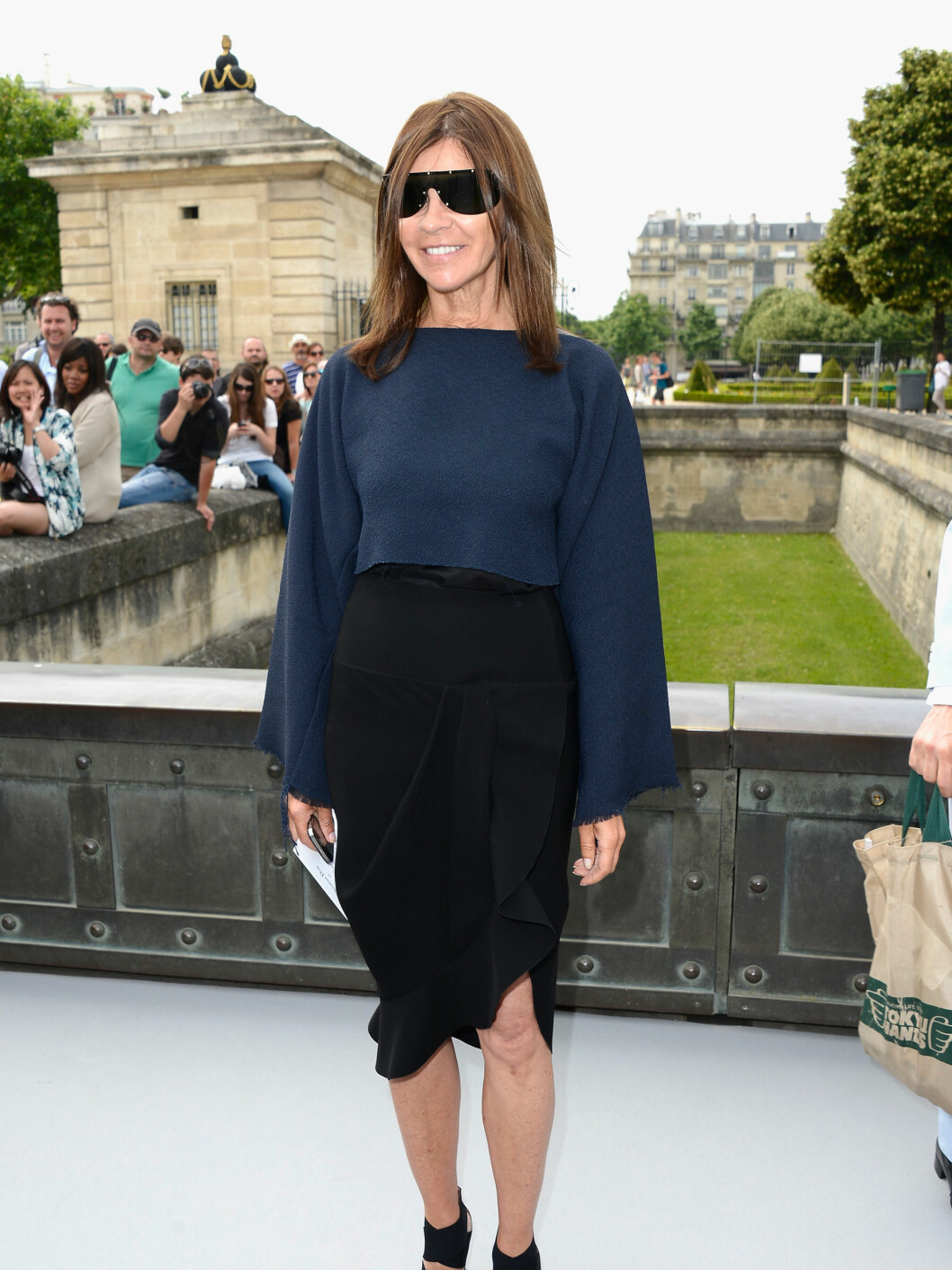 PARIS, FRANCE - JULY 01:  Carine Roitfeld attends the Christian Dior show as part of Paris Fashion Week Haute-Couture Fall/Winter 2013-2014 at Hotel Des Invalides on July 1, 2013 in Paris, France.  (Photo by Pascal Le Segretain/Getty Images) Foto: All Over Press