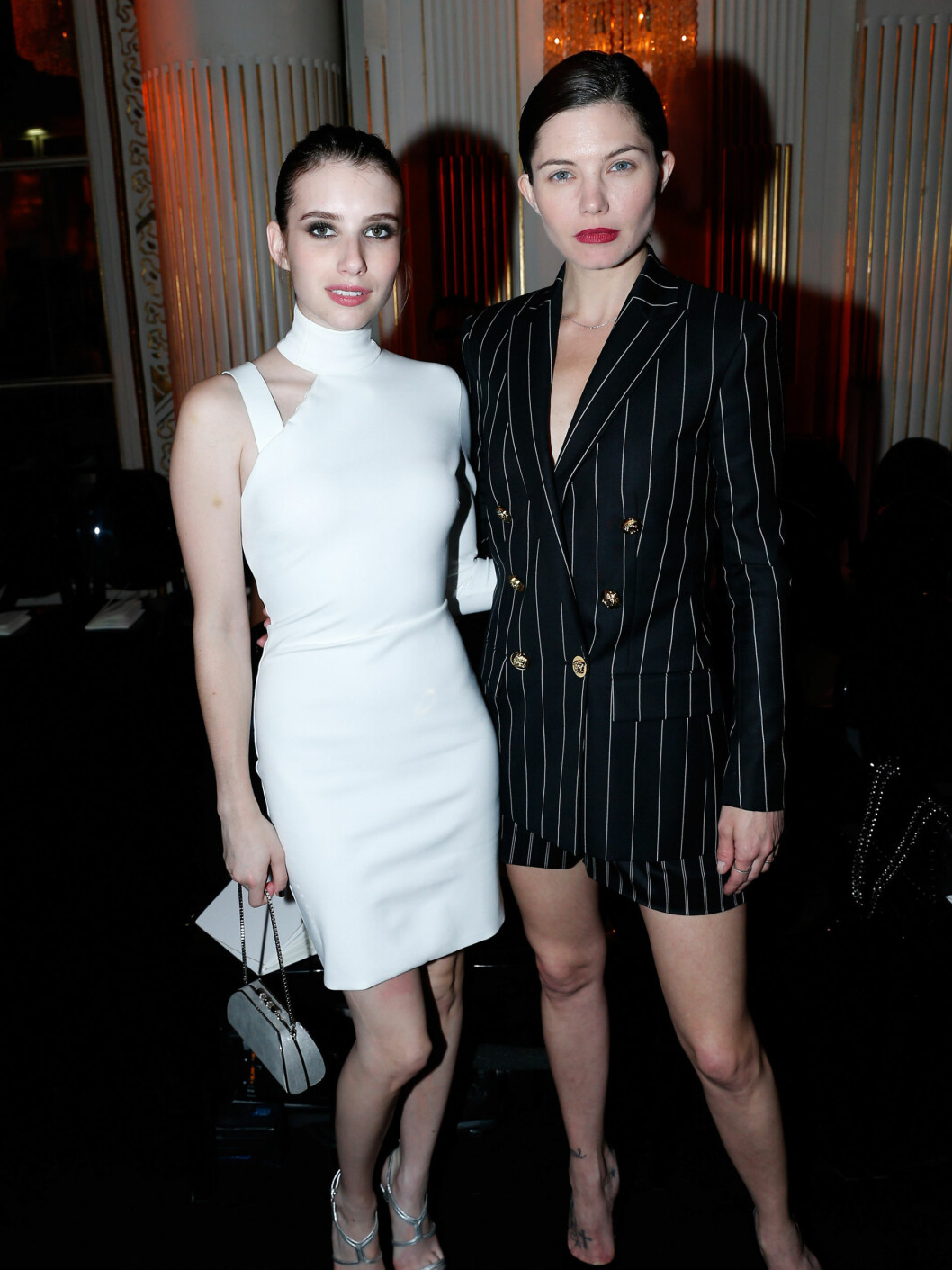 Emma Roberts og Delphine Chaneac  Foto: All Over Press
