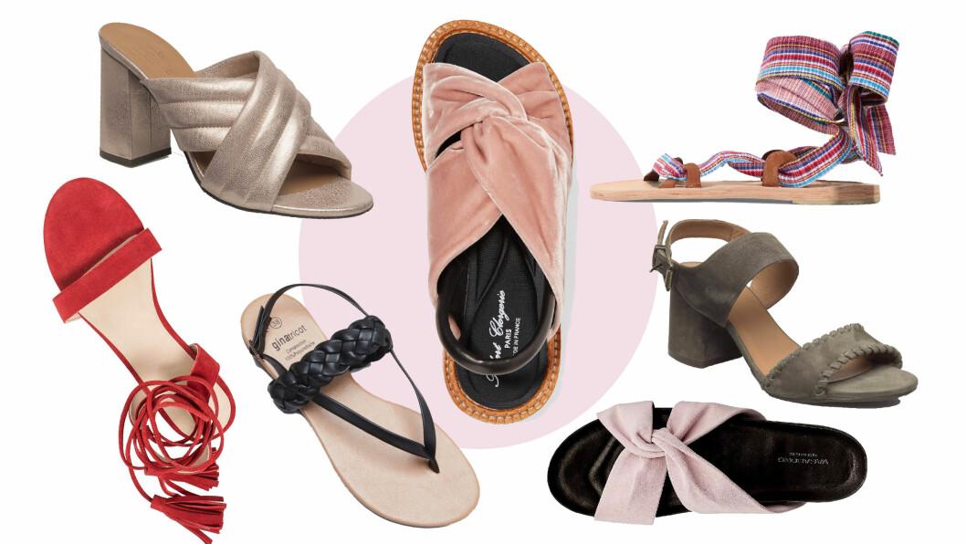 Hvilke sandaler skal pynte opp dine føtter denne sommeren? Foto: Produsentene