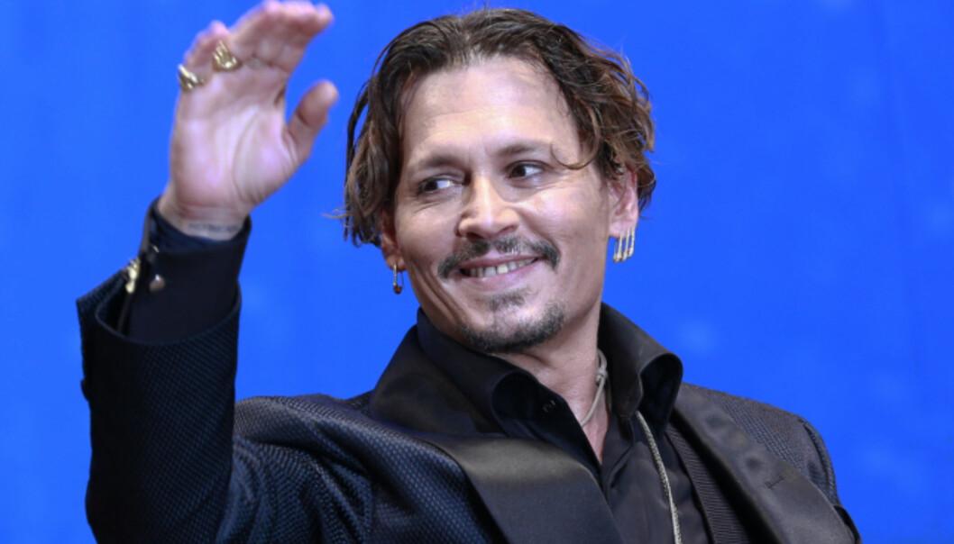 NSPIRASJON: Det er ikke vanskelig å se at Cengiz Al har latt seg inspirere av Hollywood-stjernen Johnny Depps frisyre. Foto: NTB scanpix