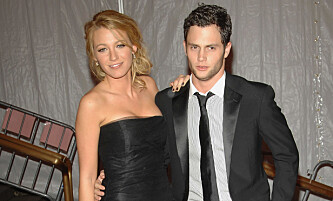DATET: «Gossip Girl»-stjernene Blake Lively og Penn Bagdley var både kjærester på TV og i virkeligheten. Foto: NTB Scanpix.