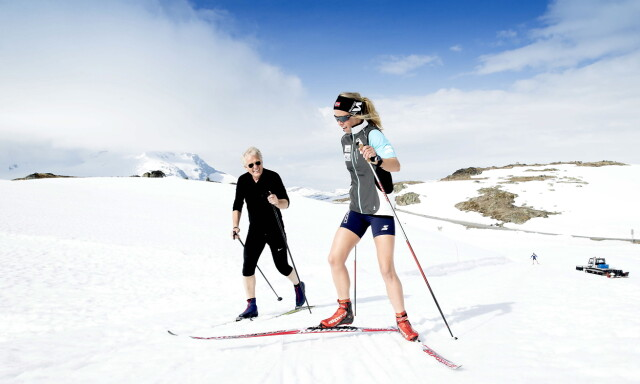 d7727ba1 SOGNEFJELLET: Vakker natur og snø til langt på sommeren. Men årets sesong  blir ikke
