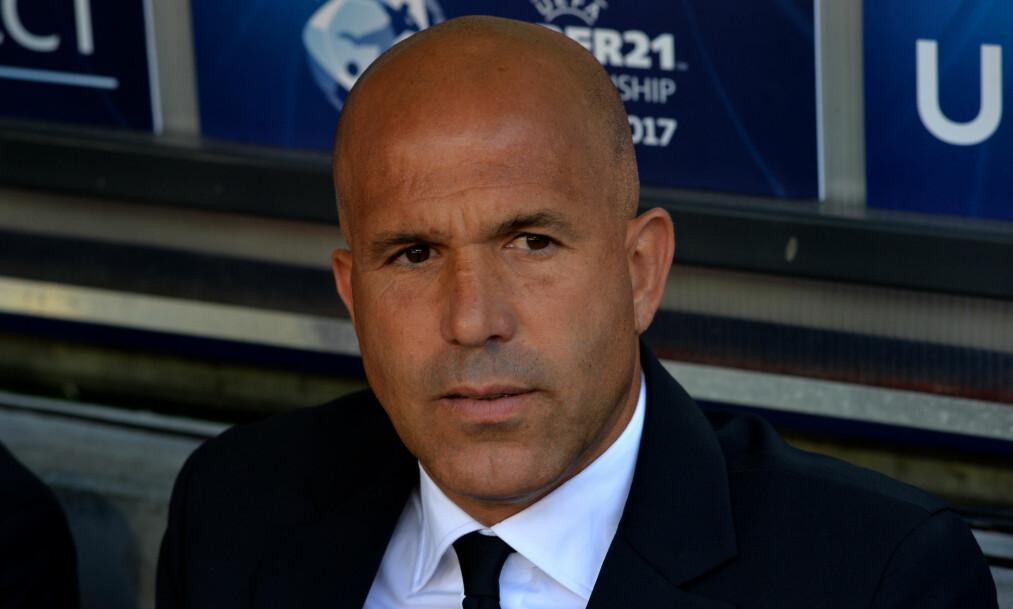 - LATTERLIG: Det er hva Italia-trener Luigi Di Biagio mener om beskyldningene fra det slovakiske U21-landslaget. Foto: Lukasz Kalinowski/REX/Shutterstock