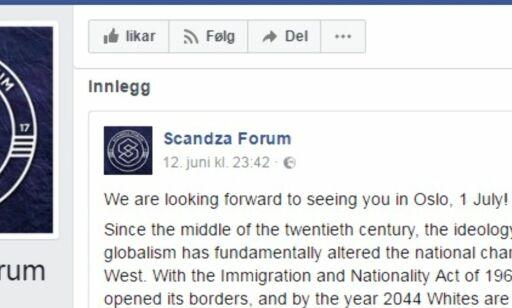 image: Konferanse på hemmelig sted i Oslo: «Hvite er i ferd med å bli i mindretall»