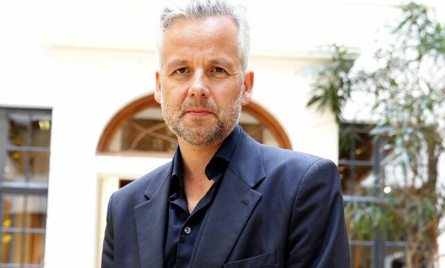 """Oslo  20150819. Kolon Forlag presenterer sin høstliste. Ari Behn kommer med 10 noveller med tittelen """"Døden er en avsporing. Fortellinger"""". Foto: Terje Pedersen / NTB scanpix"""