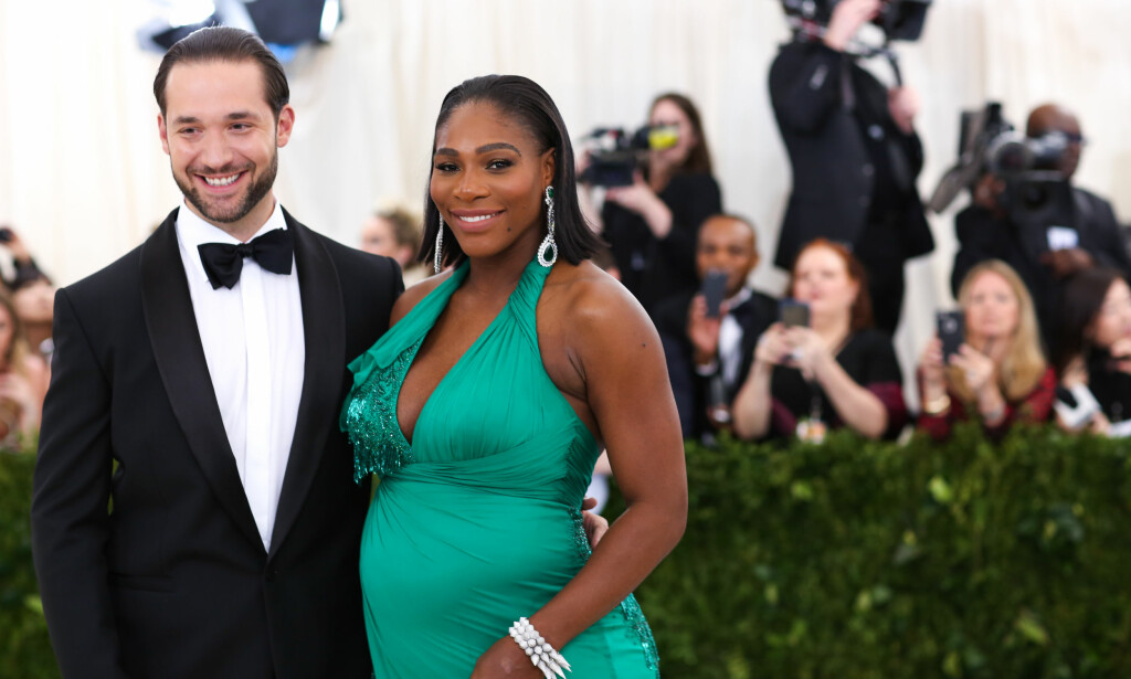 BLIR FORELDRE: I desember 2016 forlovet Serena seg med investoren Alexis Ohanian (34). Senere i år blir de foreldre for første gang. Foto: NTB Scanpix
