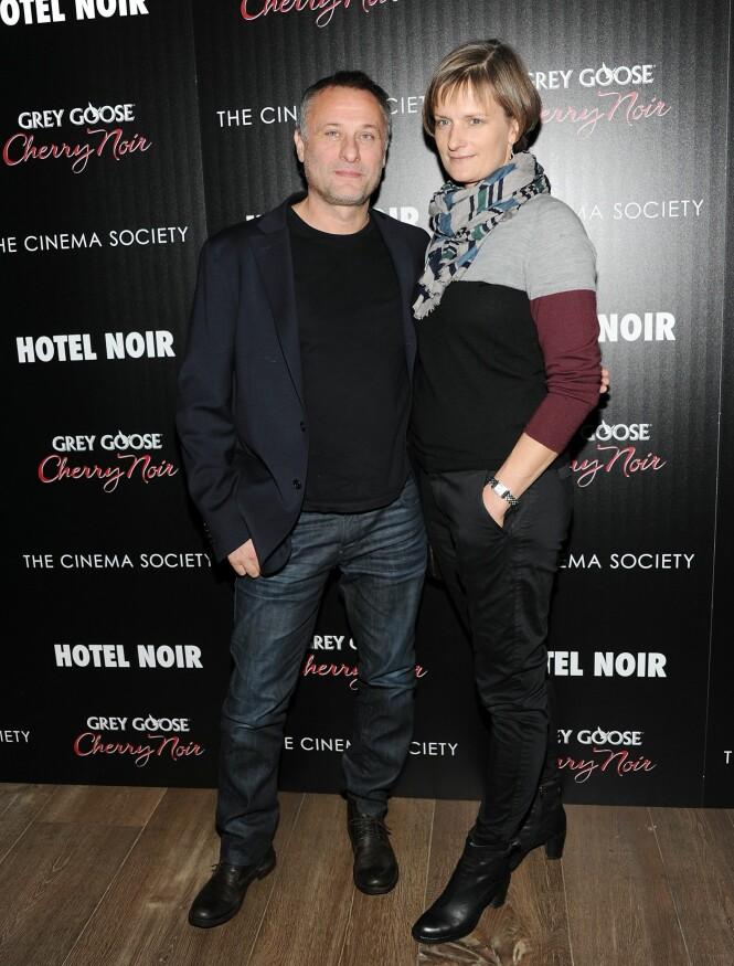 - TUNGT ÅR: Michael og Catharina giftet seg i 1998, og var sammen helt til skuespilleren i fjor døde. Hun beskriver perioden som vanskelig. Foto: NTB scanpix