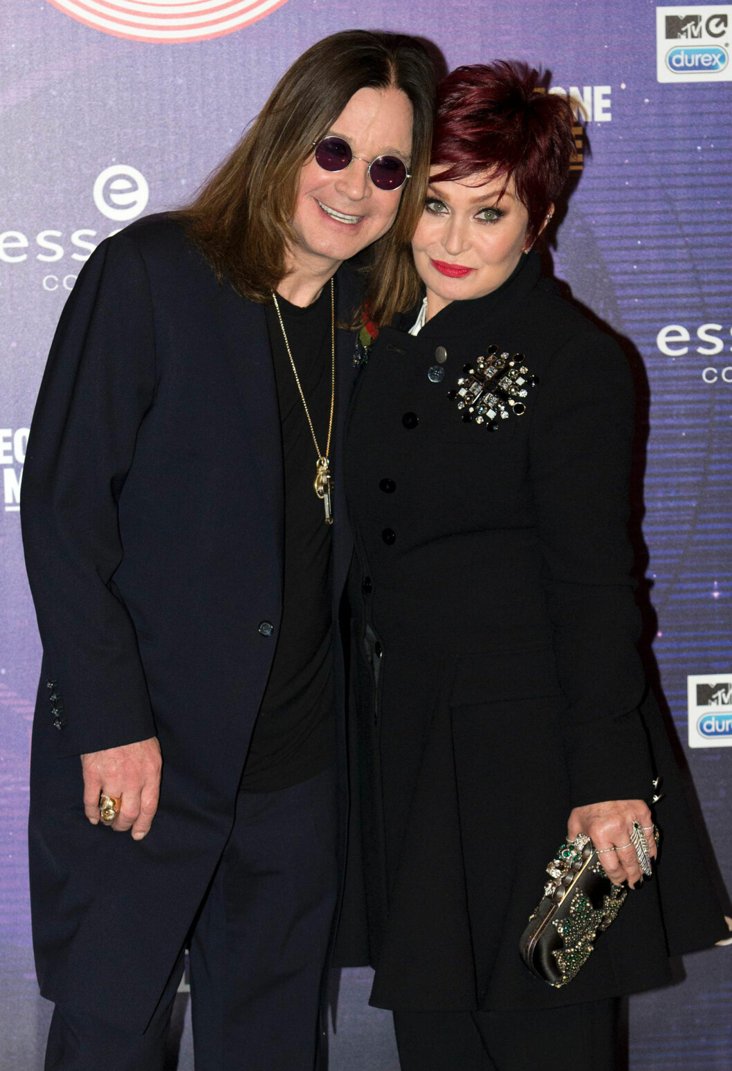 <strong>BRUDD:</strong> Etter nesten 34 år (!) som mann og kone gikk Ozzy og Sharon Osbourne hvert til sitt i mai. Foto: NTB Scanpix