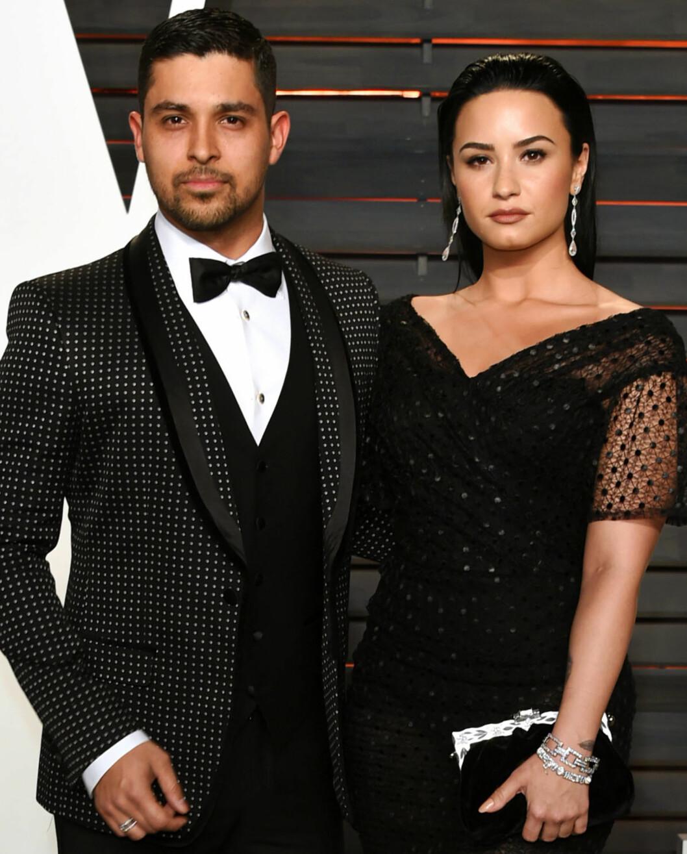 <strong>BRUDD:</strong> Etter nesten seks år som kjærester annonserte skuespiller Wilmer Valderramaog sanger Demi Lovato i juni at de to hadde valgt å gå hvert til sitt.  Foto: NTB Scanpix
