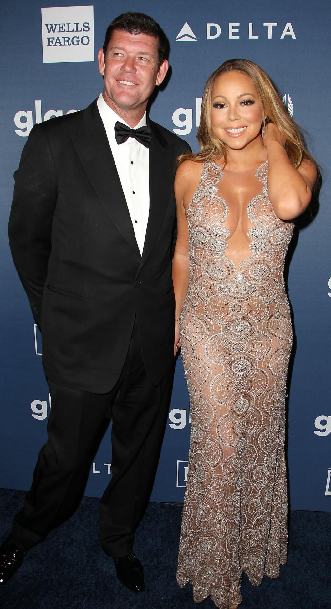 <strong>BRUDD:</strong> I oktober bekreftet sanger Mariah Carey at hun hadde brutt forlovelsen med forretningsmannen og milliardæren James Packer. De fant lykken i fjor sommer.  Foto: NTB Scanpix