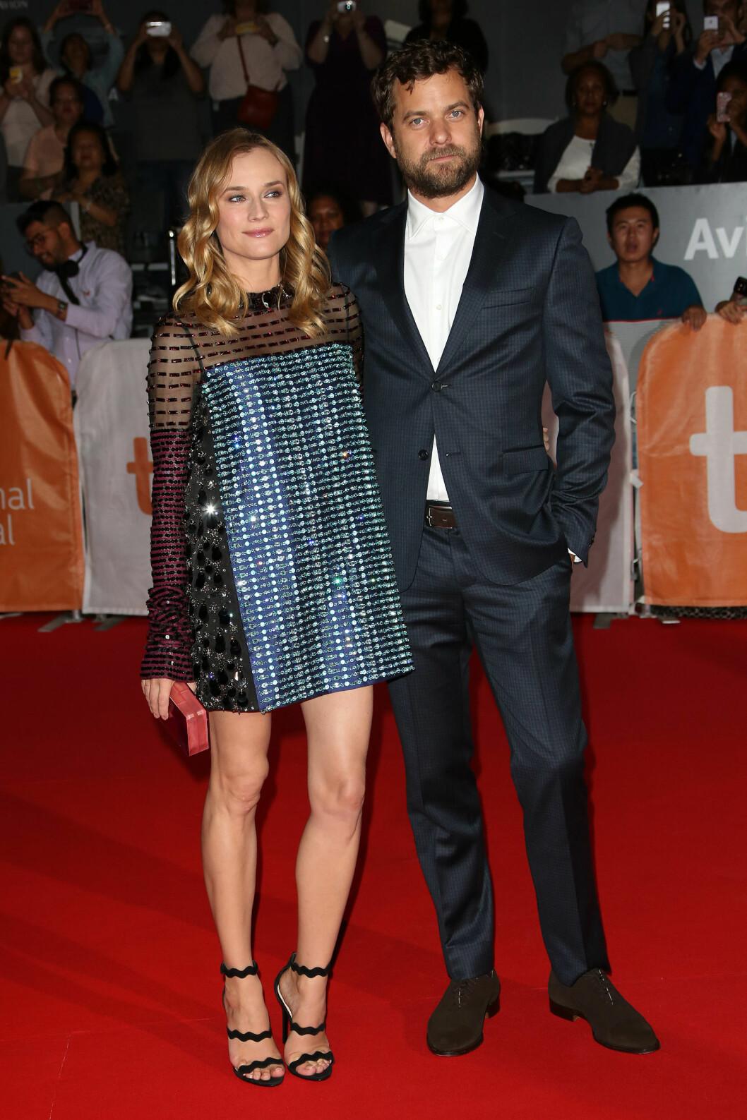 <strong>BRUDD:</strong> Etter 10 år valgte skuespillerparet Joshua Jackson og Diane Kruger å gå hvert til sitt. Bruddet ble kjent i sommer. Foto: NTB Scanpix