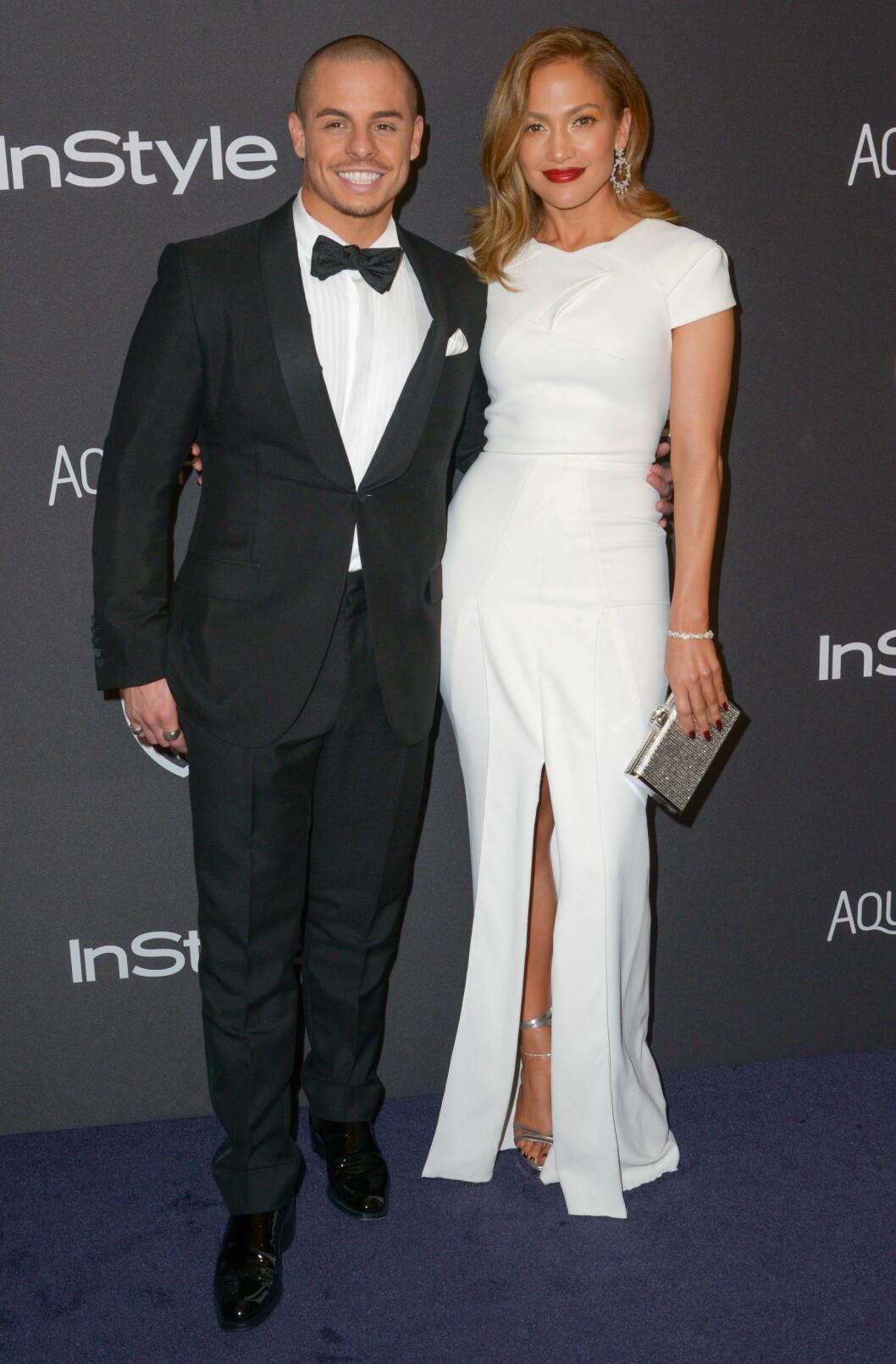 <strong>BRUDD:</strong> I august ble det kjent at sanger Jennifer Lopez og danser Casper Smart hadde gjort det slutt. De har vært et par siden 2012.  Foto: NTB Scanpix