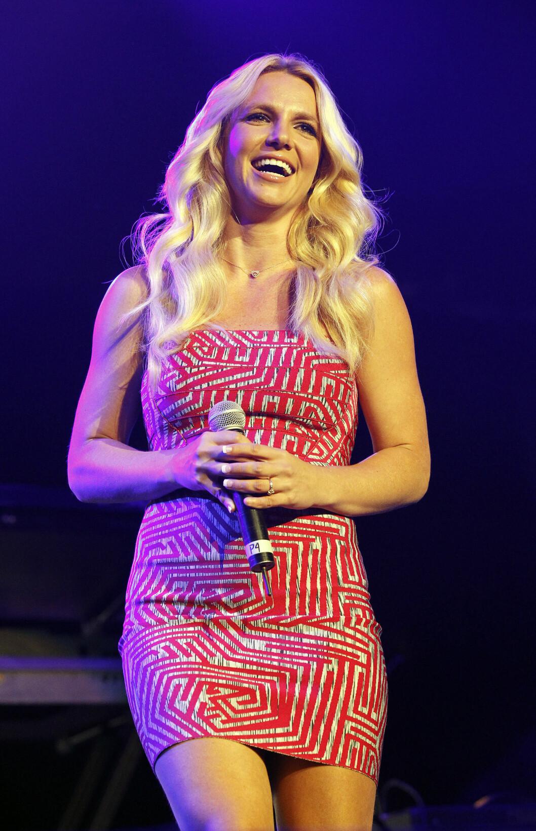 <strong>2011:</strong> Britney avbildet i 2011.  Foto: Reuters