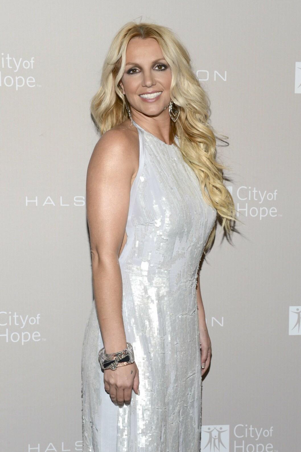 <strong>2012:</strong> Her er Britney i 2012.  Foto: Afp