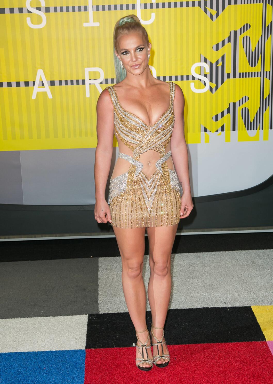 <strong>2015:</strong> Britney under MTV Video Music Awards.  Foto: wenn.com