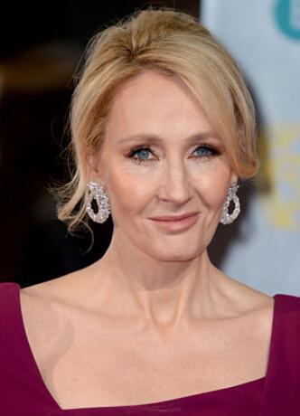 <strong>POTTER-MAMMA:</strong> Joanne Kathleen Rowling har fortalt at ideen om Harry Potter ble «unnfanget» på et tog mellom Manchester og London. Bøkene om den bebrillede trollmannen har gjort briten til milliardær. Foto: NTB Scanpix