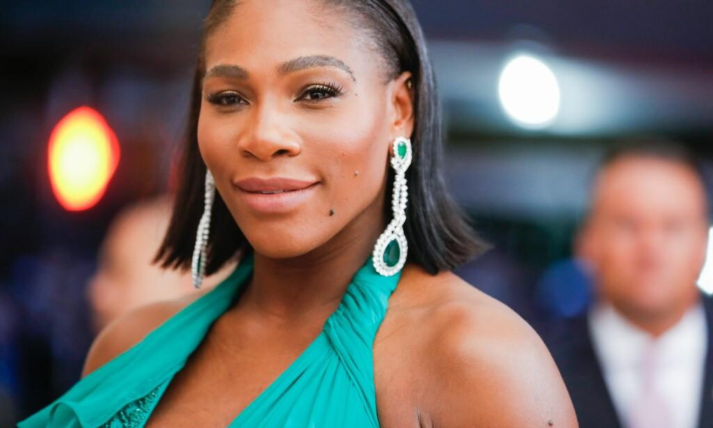 TØFF TID: I et nytt intervju med Vogue forteller Serena Williams om hvor utfordrende hun syntes fødselen og mammarollen er. Foto: NTB scanpix