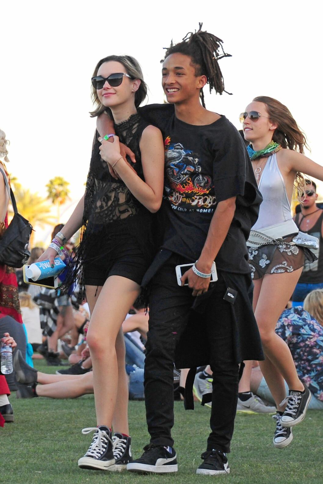 Jaden Smith og kjæreste Foto: Xposure