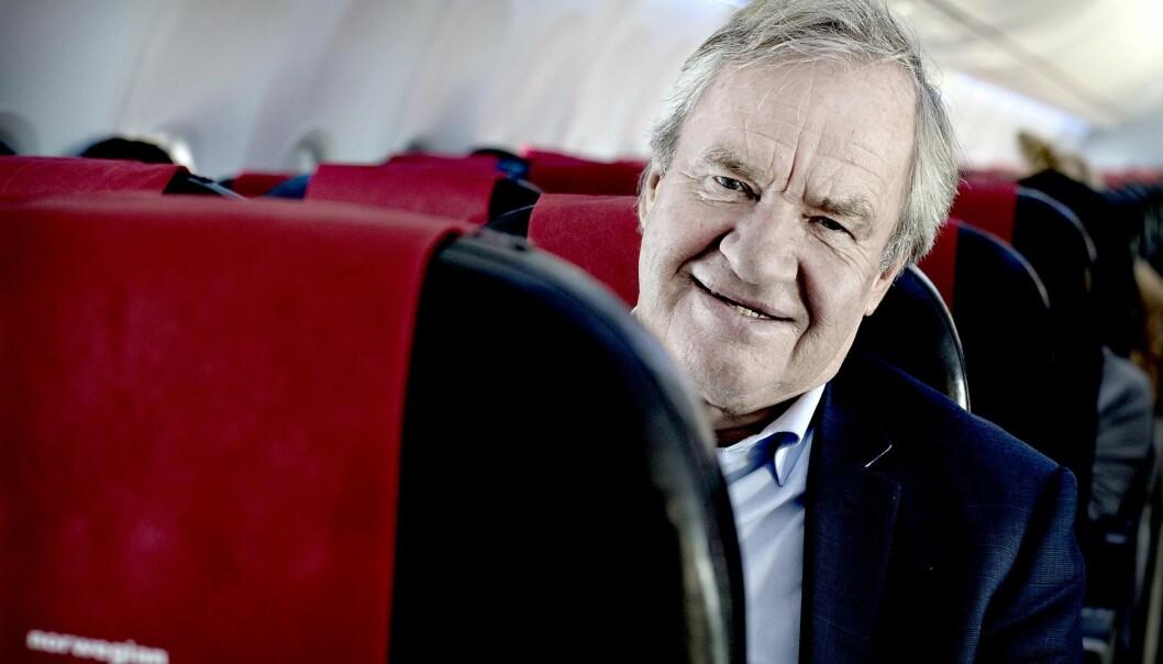 <strong>BEKLAGER:</strong> Norwegian-sjef Bjørn Kjos beklager overfor sine passasjerer etter problemene i starten av denne uka. Foto: Dagbladet