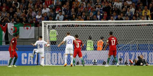 image: Til tross for vanvittig dobbeltbom er Chile finaleklare: - Det er det sykeste