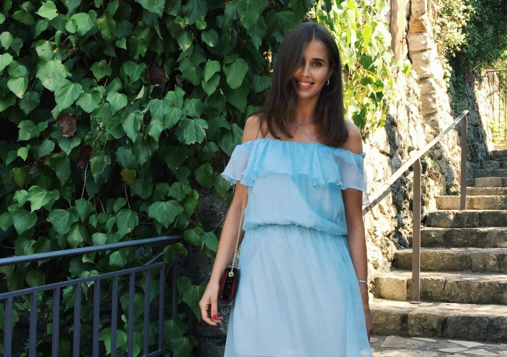 ANTREKK TIL BRYLLUP: Moteprofil Darja Barannik er et prakteksempel på hva som funker bra i bryllup! FOTO: Darjabarannik.com