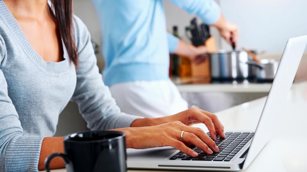KRANGLING: Om partneren har klaget over at jobben din tar for mye tid, er det ikke usannsynlig at det ligger noe i det.  Foto: Scanpix
