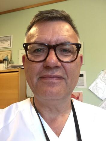 EKSPERT: Logoped Ole Andreas Holmsen har bare hatt to pasienter med FAS i løpet av sitt yrkesliv. - Det er en svært sjelden tilstand. Foto: Presse