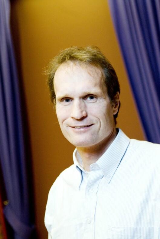 FORSKES MYE PÅ MS: Nevrolog Trygve Holmøy har stor tro på stamcellebehandling. Foto: Presse