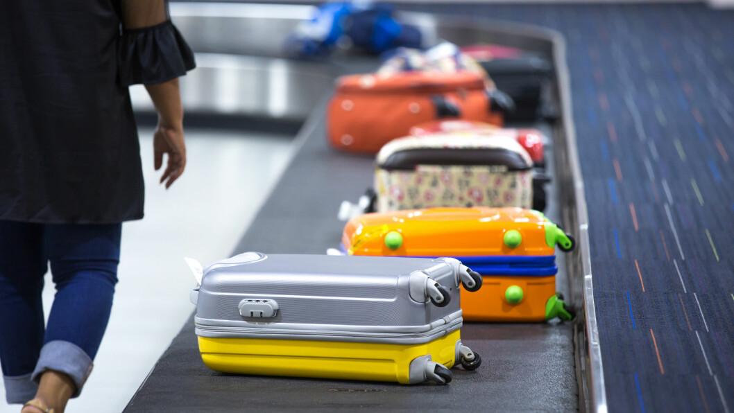 BAGASJE BORTE: Det er kjedelig når bagasjen blir borte å ferie, men du kan faktisk få erstatning. Dette må du gjøre!  Foto: NTB scanpix