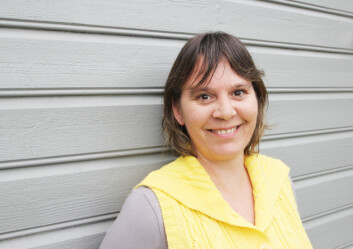 TIDLIG OVERGANGSALDER: Christine (39) får god oppfølging hos legen og bruker mye tid på å være aktivitet ute. Foto: Privat