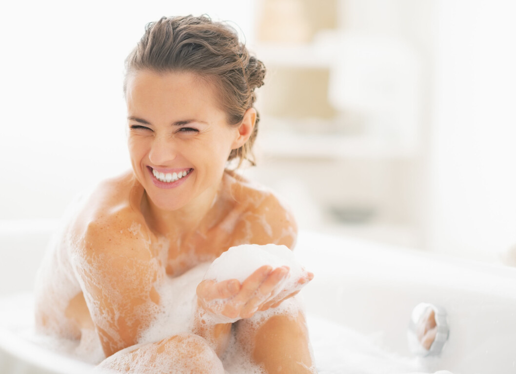 FUKT: God hygiene og daglig pleie er viktig for hele kroppen.  Foto: Foto: Shutterstock