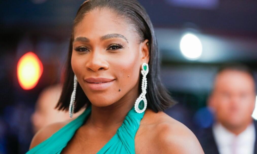 OVERRASKET: Serena Williams trodde ikke sine egne øyne da graviditetstest nummer sju var positiv. Foto: Rex / NTB scanpix