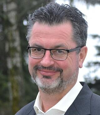 Kommunikasjonssjef i Oslo katolske bispedømme Hans Rossiné. Foto: Den katolske kirke.