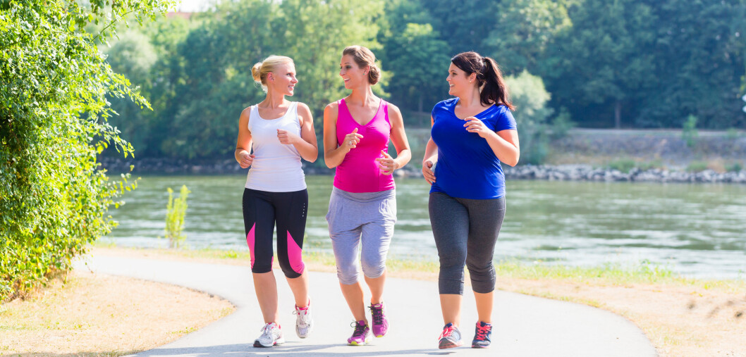 TO TIMER I UKEN: To timer med rolig jogging i uken gir svært store helseeffekter. Foto: NTB scanpix