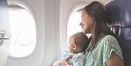 8 tips som redder flyturen med små barn