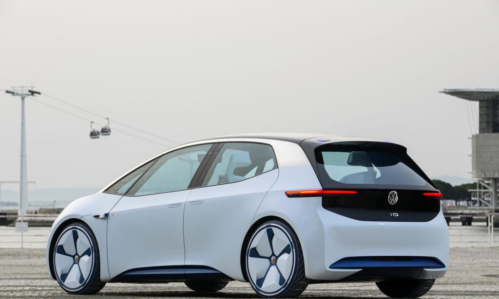 KOMMER I 2020: Først ut av den nye generasjonen elbiler fra VW blir ID-kombien basert på konseptet fra 2016. Foto: Ingo Barenschee