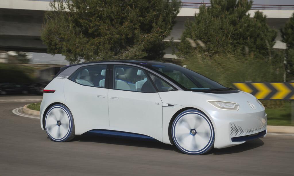 SLIK SER DEN UT, FORELØPIG: VW regner med at I.D. blir deres nye Golf, som i sin tid overtok for Bobla. Men I.D. blir elektrisk. Foto: Ingo Barenschee