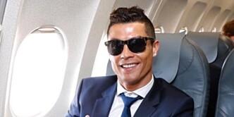 Nå viser Ronaldo fram sine nyfødte tvillinger