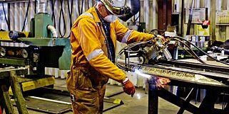 image: Arbeidsledigheten faller - størst nedgang i bygg og anlegg