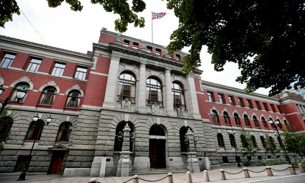 <b>DISKRIMINERINGSSAK: </b>Høyesteretts hus er sete for Norges Høyesterett. Foto: Lise Åserud / NTB scanpix